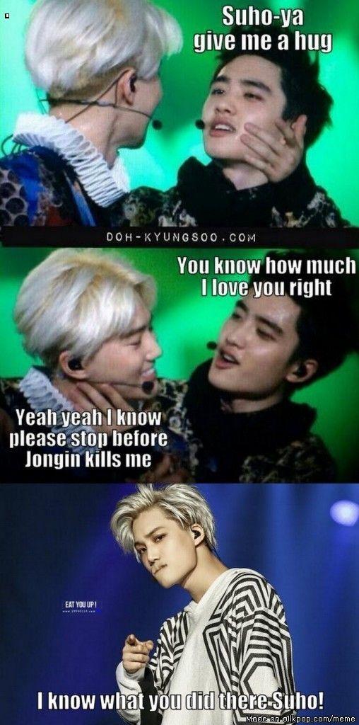 Meme Center | allkpop | EXO | EXO, Kpop exo, Exo memes