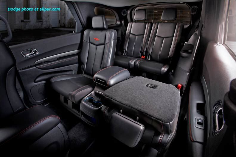Great Huge American SUV Dodge Durango   With An Updated Appearance And A Modified  Interior Was One Of The Highlights Of Prime New York International