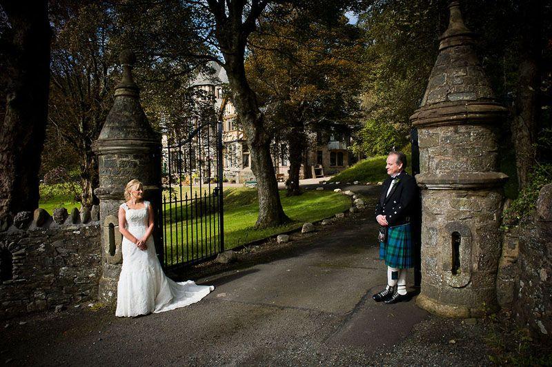 Exclusive use wedding venue in Scotland
