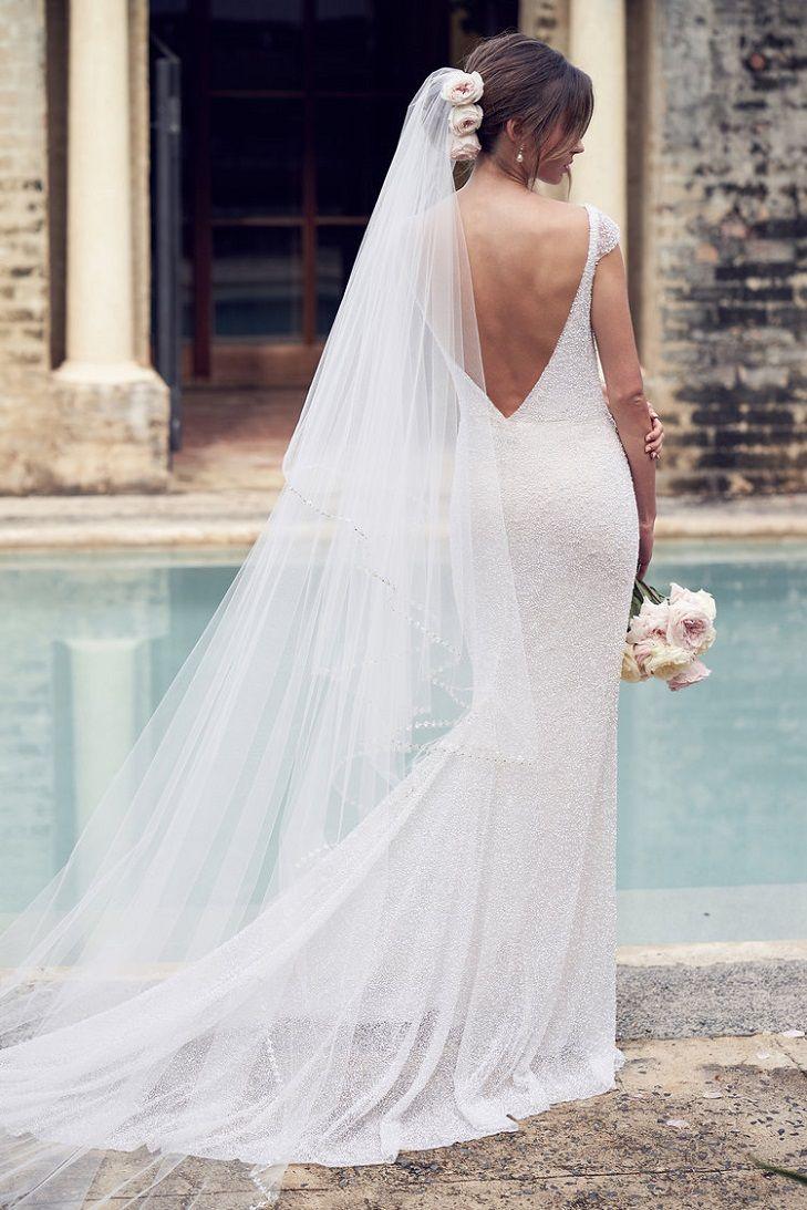 Blair wedding dress  by Anna Campbell Wanderlust Collection