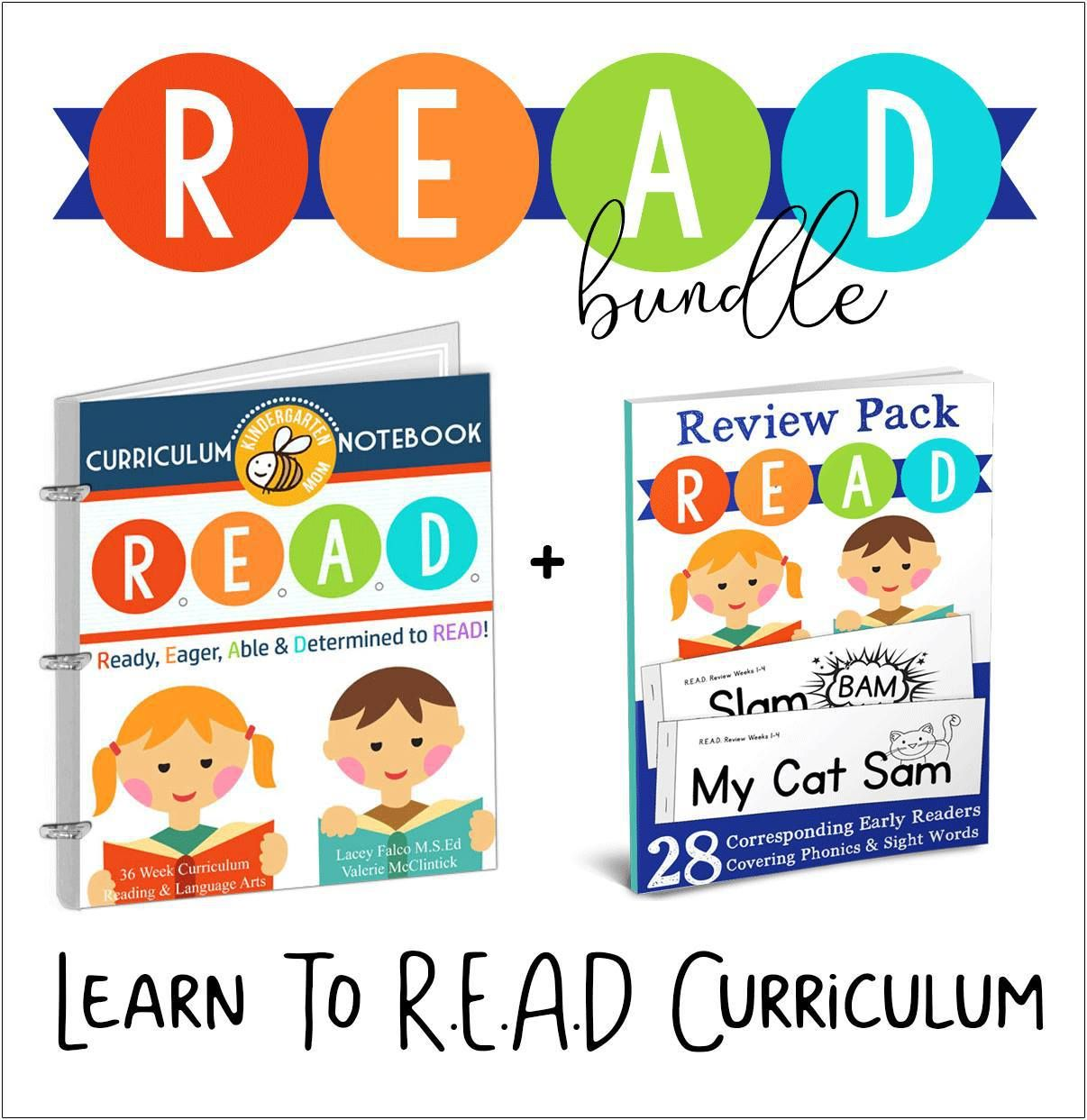 Giveaway Crafty Classroom R E A D Curriculum Notebook