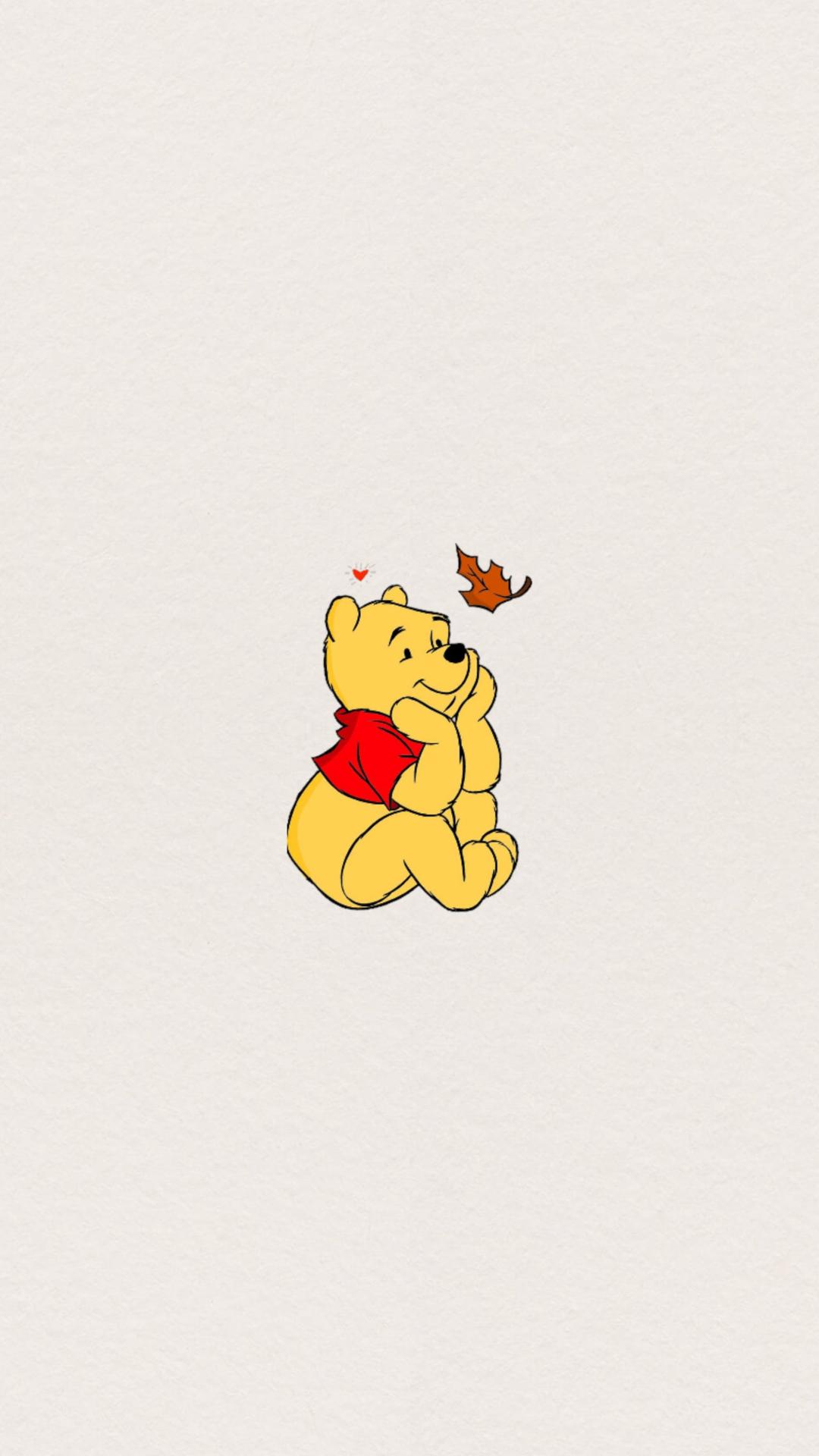 Autumn Fall Winnie The Pooh Wallpaper Winnie The Pooh Background Cartoon Wallpaper Cute Winnie The Pooh