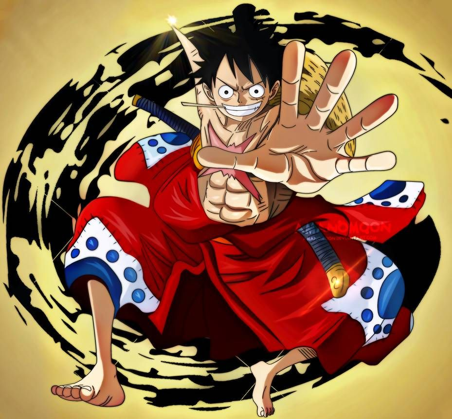 One Piece 916 Luffy Tarou Wano Kuni Anime Manga By Amanomoon On Deviantart One Piece Luffy Wano Wallpaper Anime