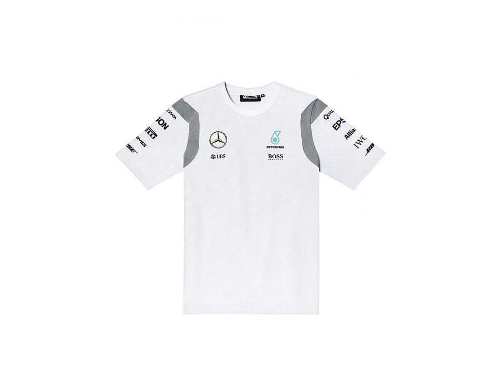 ee7e81b8013f Pánské triko HUGO BOSS MERCEDES AMG PETRONAS. Oficiální týmové MERCEDES AMG  PETRONAS tričko Formule 1