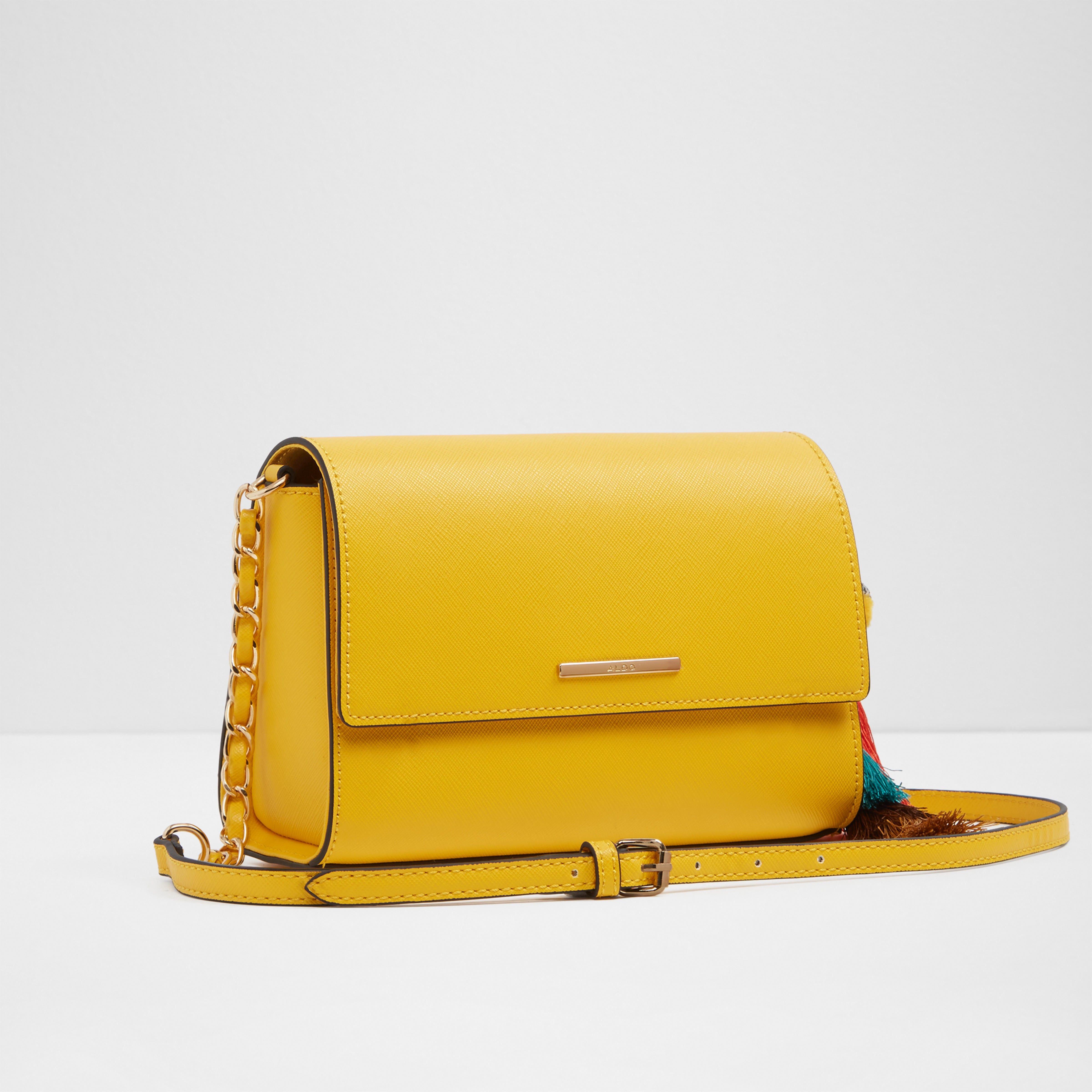 14091c5c89 Aldo Chatfield - Mustard Gold Aldo Handbags