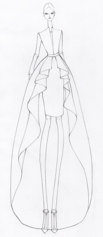 Pin By Hailey Laurenson On Illustration Fashion Illustration Fashion Design Fashion Illustration Sketches Dresses Fashion Design Drawings