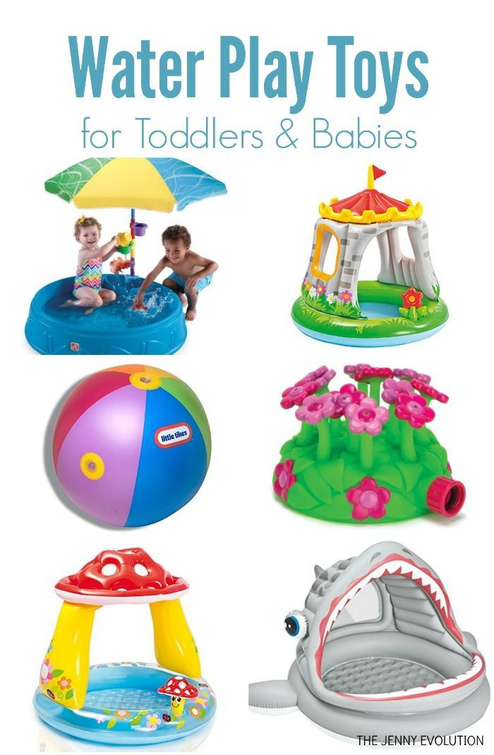 WATER PLAY TOYS For Toddlers And Babies   Get In Some Fun Outdoor Sensory  Play!