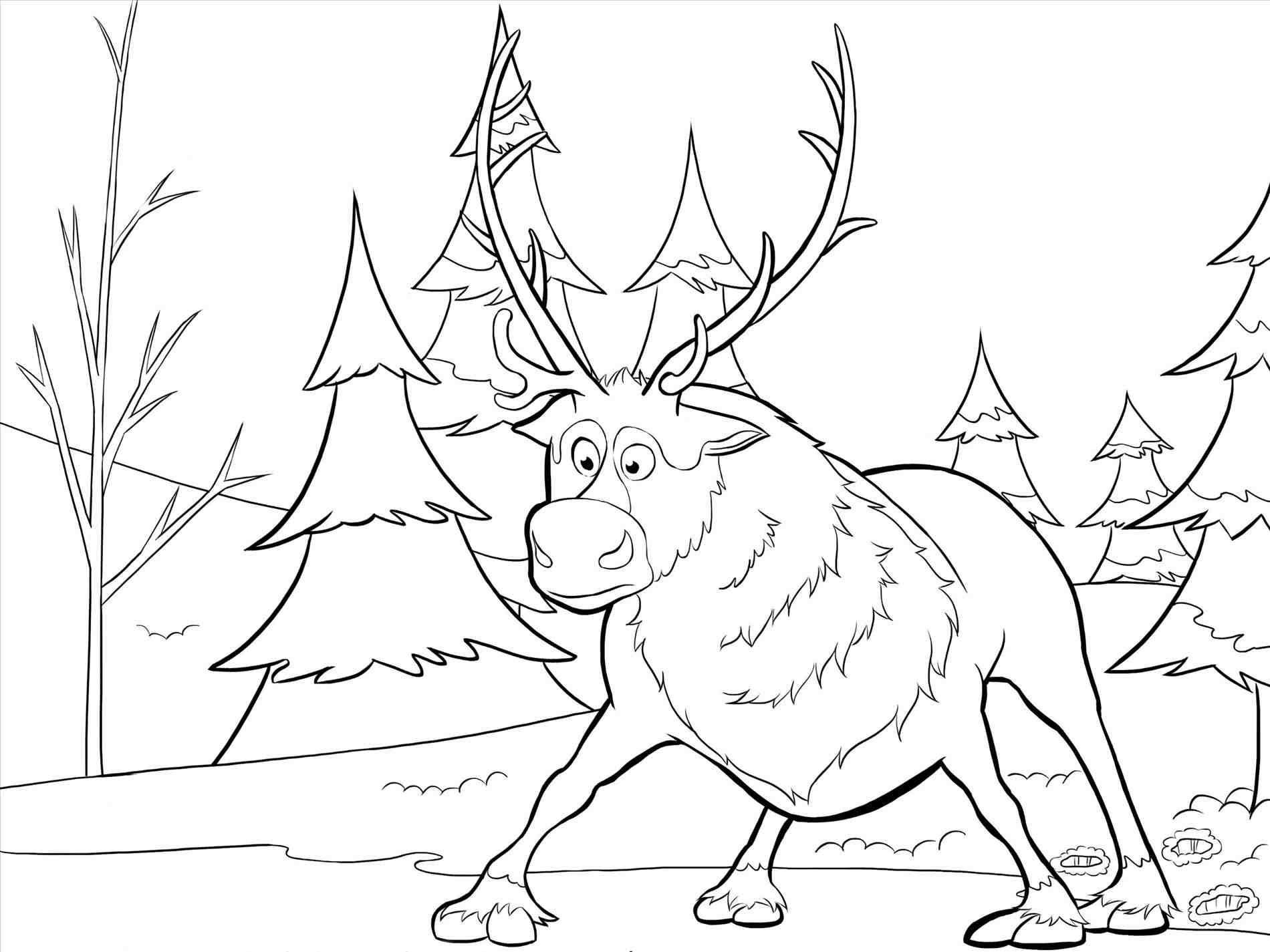 New Post-frozen christmas coloring pages printable-Trendingcheminee ...