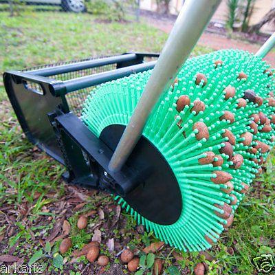 18 Nut Picker Upper Roller Pecans Almond Lg Acorn Bag A Authorized Dealer