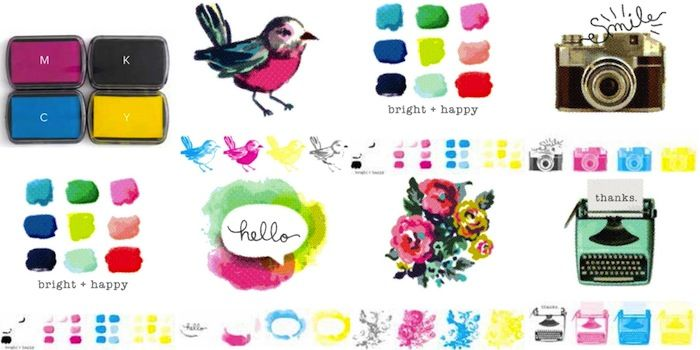 We R Memory Keepers CMYK Layering Stamps, gefunden auf www.danipeuss.de Scrapbooking