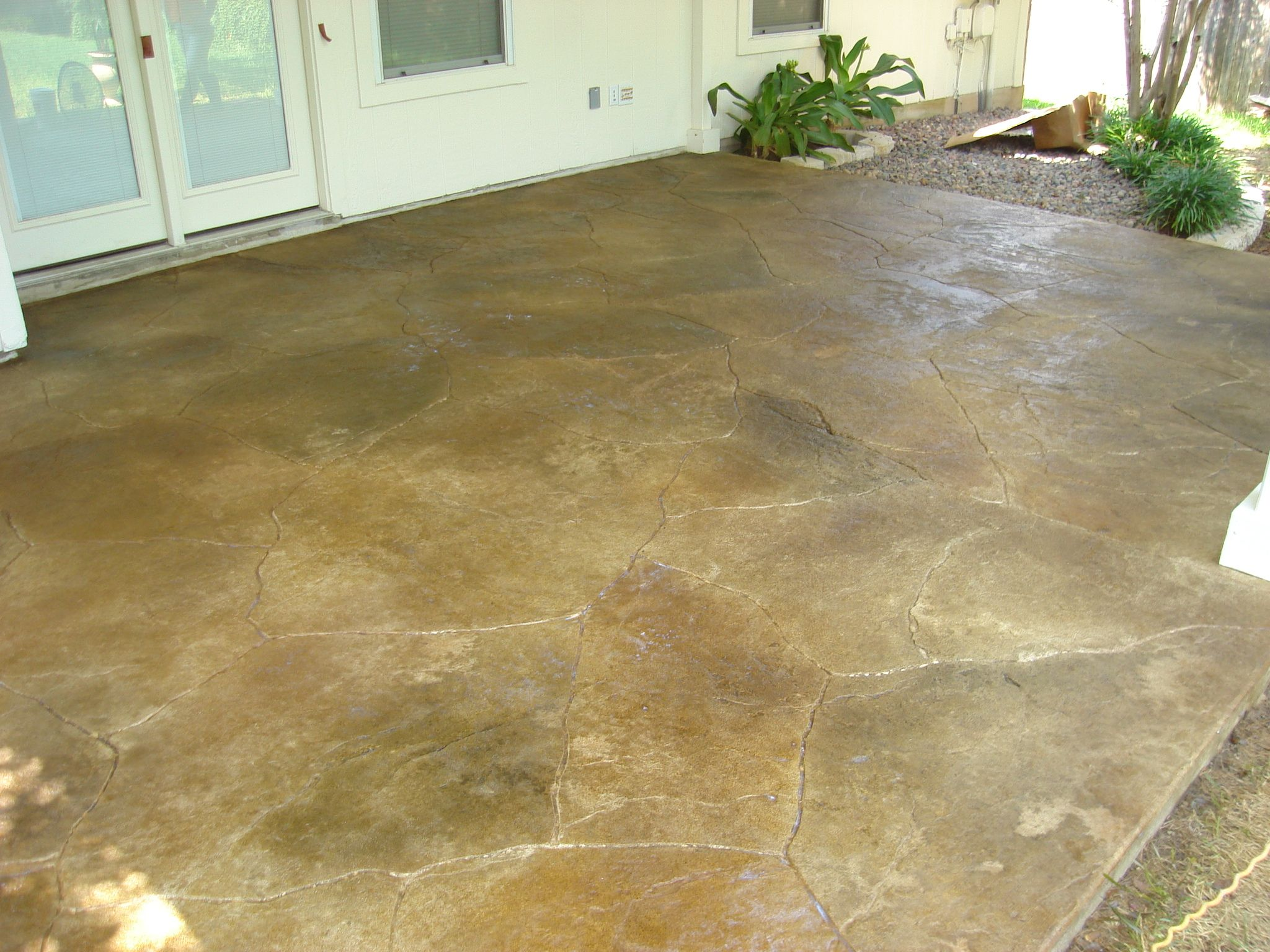 Stamped Flagstone, Stamped Concrete, Stamped Overlay, Decorative Stamped  Concrete AUSTIN TX