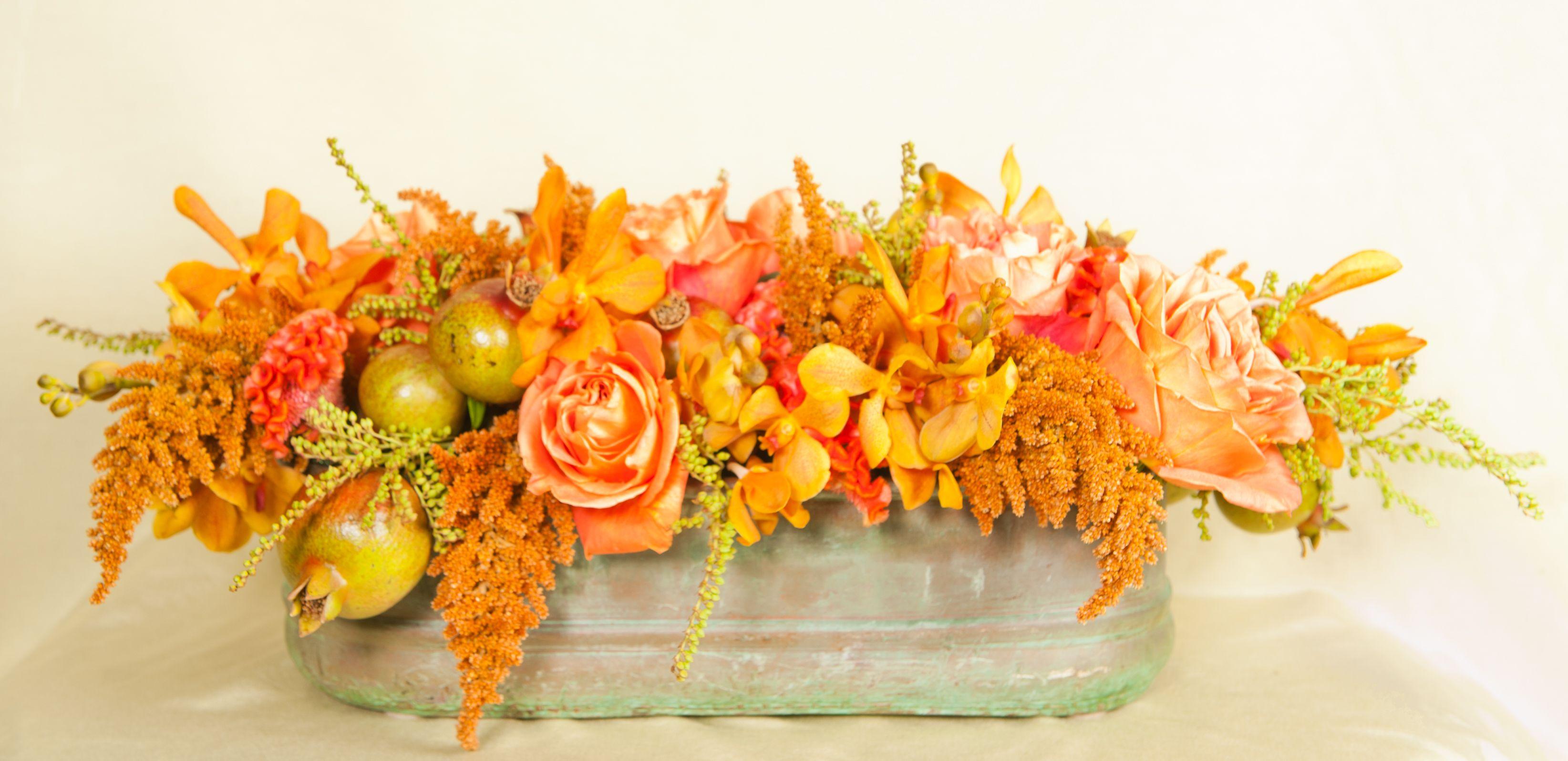 Thanksgiving Flowers Bedford Village Florist