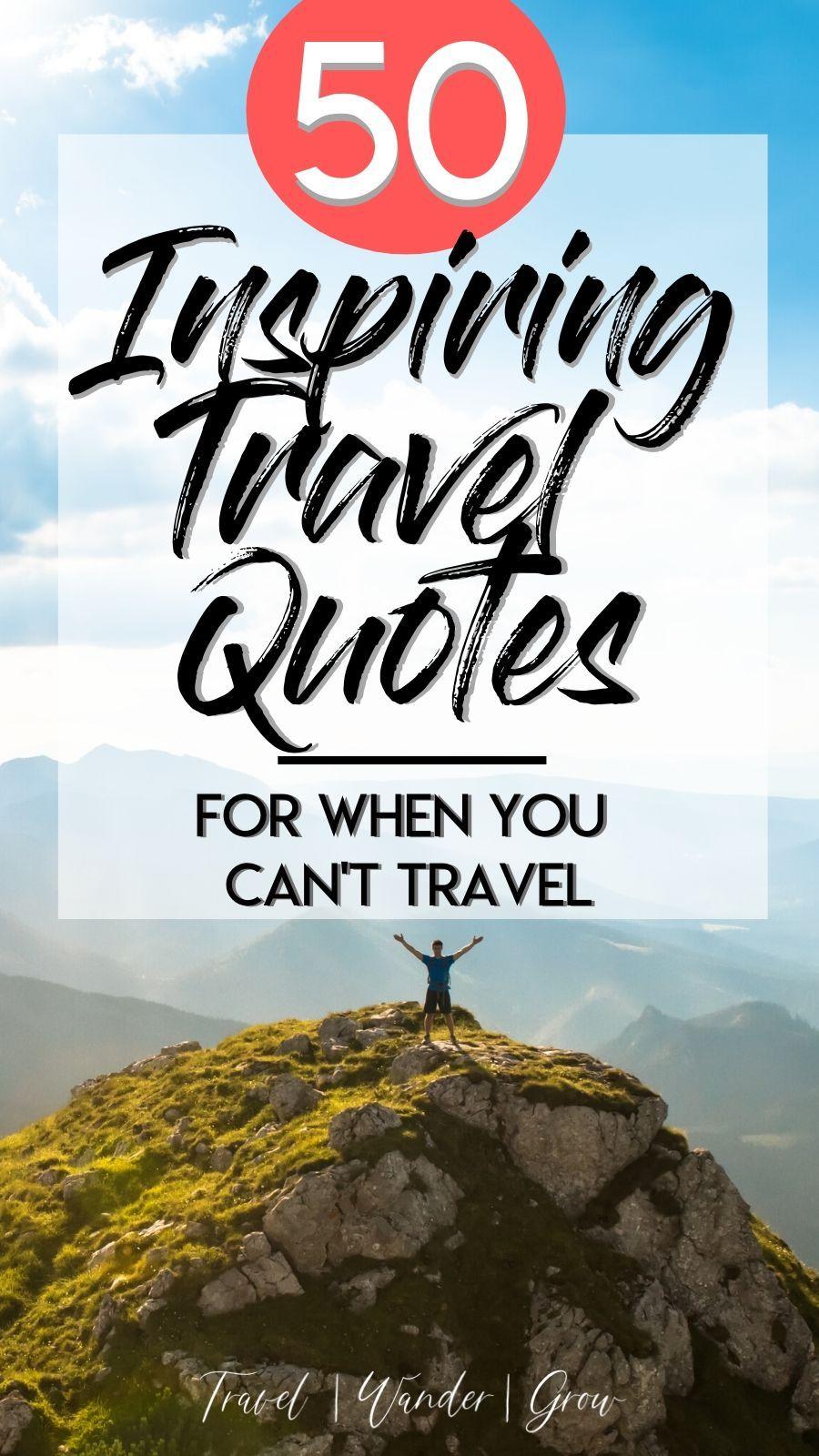50 Inspiration Travel Quotes
