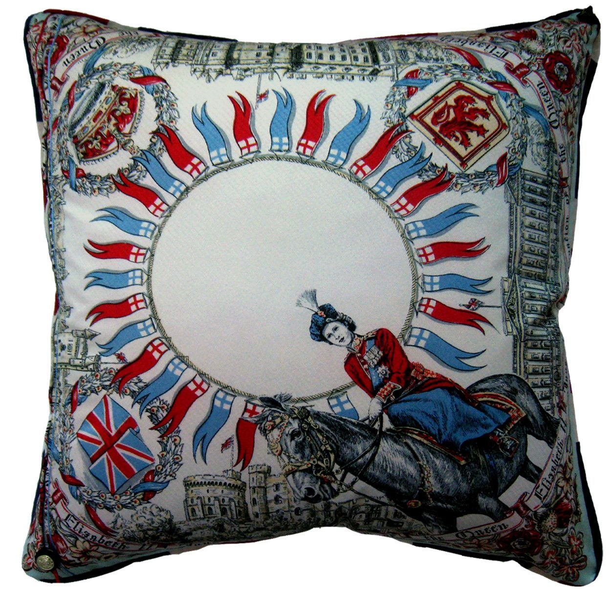Ceremonial Route Cushion Cover