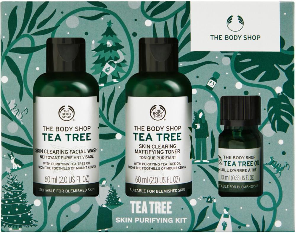The Body Shop Online Only Tea Tree Anti Blemish Deluxe Kit Tea Tree Oil For Acne The Body Shop Body Shop Tea Tree