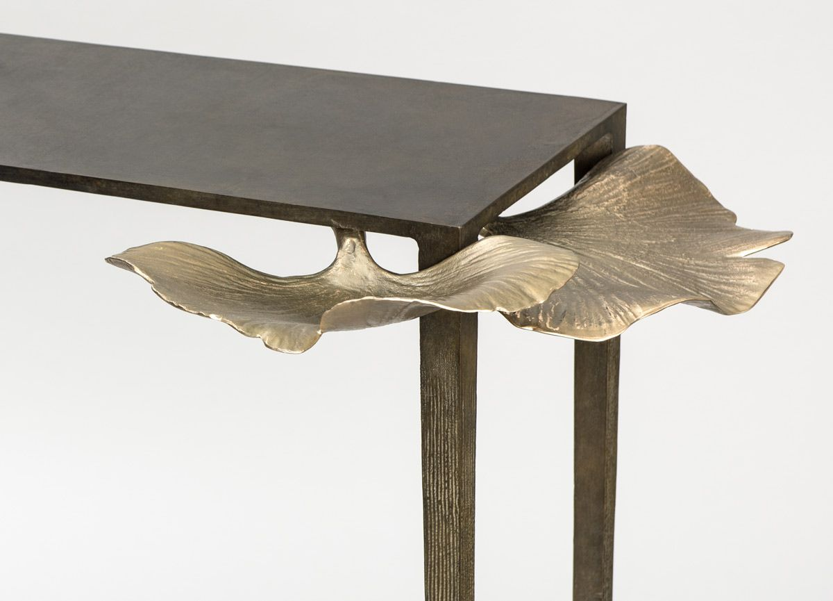Ginkgo console table home decor ideas modern console tables ➤ get inspired with us visit www modernconsoletables net consoletables homedecorideas
