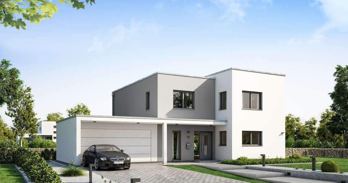 Kern-Haus Futura Bauhaus Eingangsseite