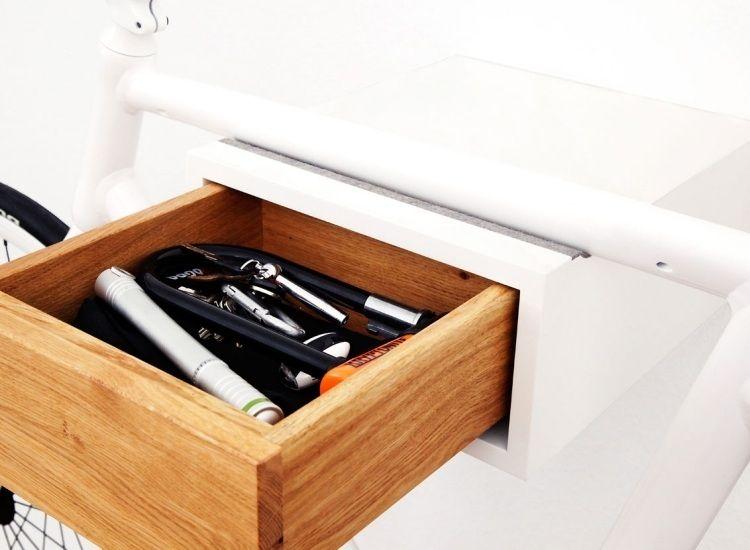 porte v lo mural 30 designs en photos et instructions. Black Bedroom Furniture Sets. Home Design Ideas
