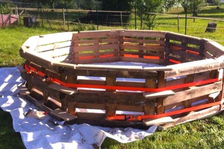 voici comment se construire une piscine presque gratuitement oui oui gratuitement