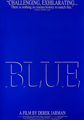 2018 年の blue 1993 filmmaker derek jarman narrates his final