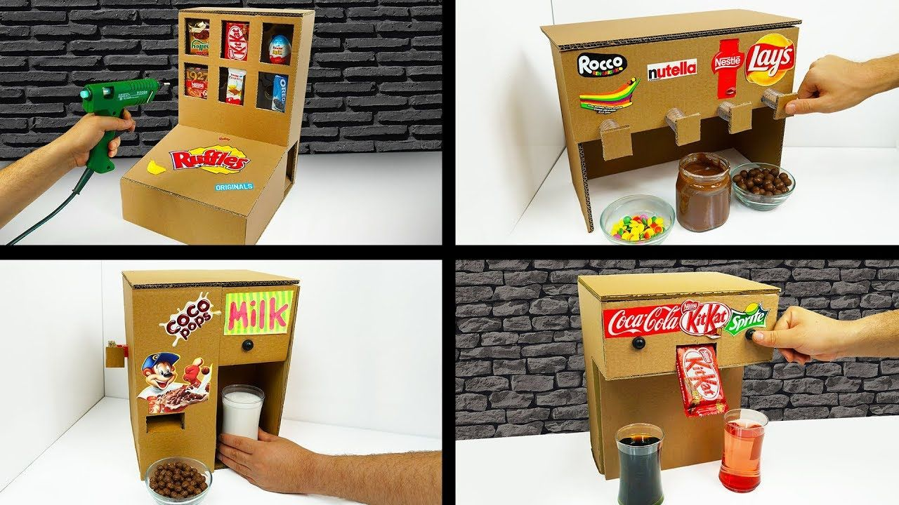 Top 5 Amazing ideas from Cardboard at Home YouTube