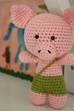 Tummy Teddy amigurumi pattern | lilleliis | 354x236