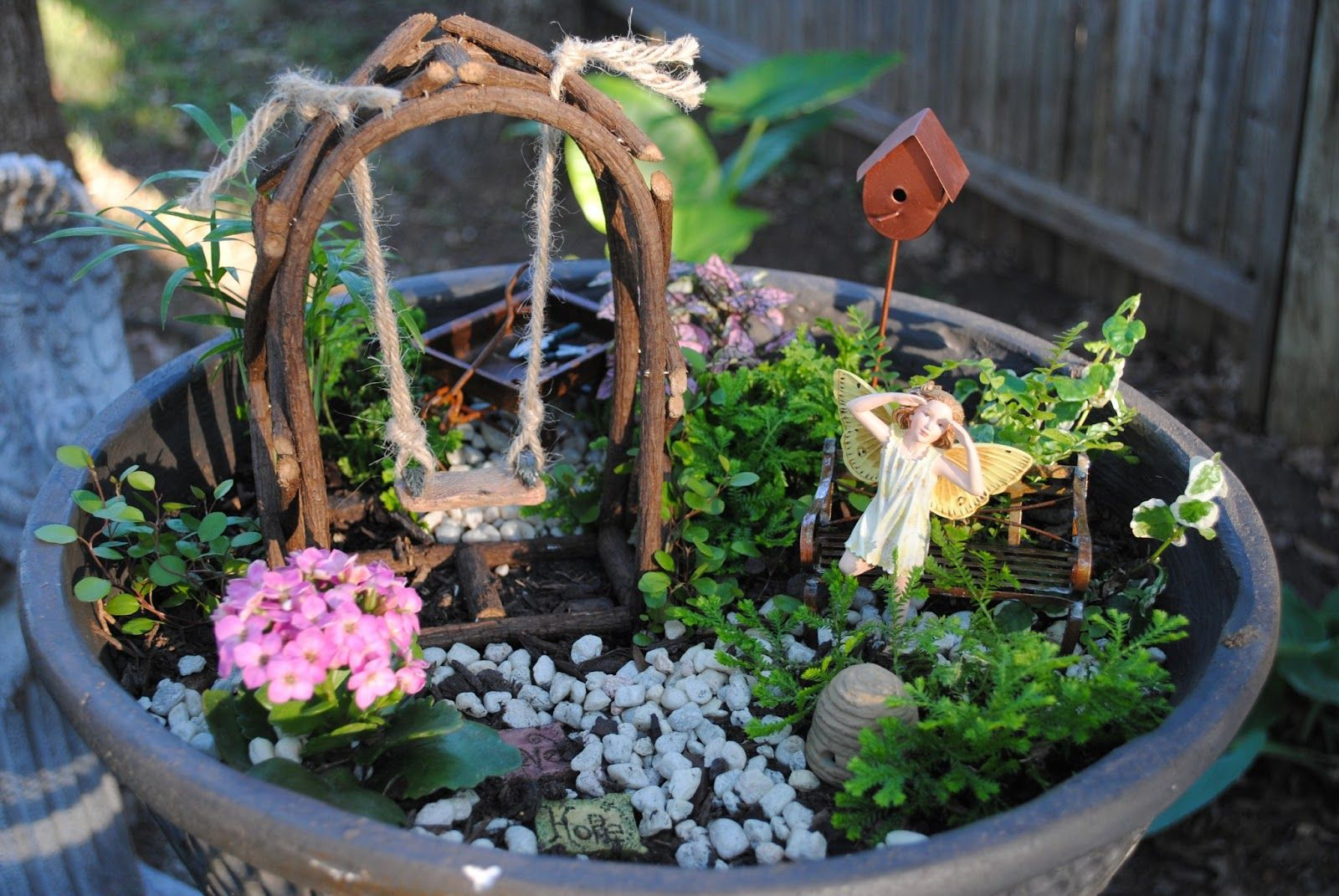 Miniature Fairy Garden - Google Search
