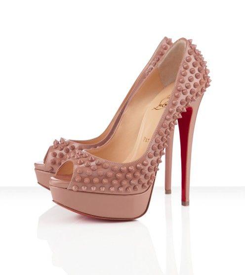 christian louboutin lady peep spikes 150mm shoes shoes shoes rh pinterest com