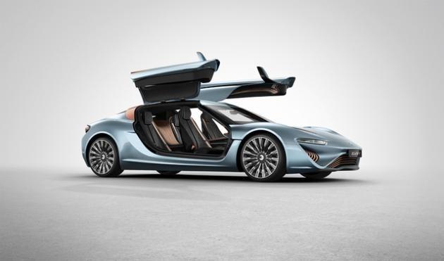 塩水で走る電気スーパーカーがついに公道デビュー(画像・動画あり) / Quant e-Sportlimousine