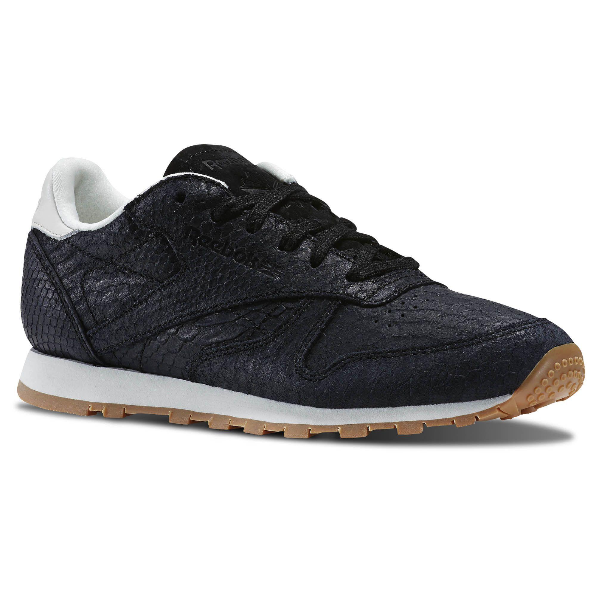 Reebok Cl Leather Clean Exoctics W Schuhe black aQutU0h