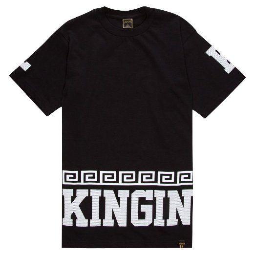 LAST KINGS Street King Mens T-Shirt: Clothing