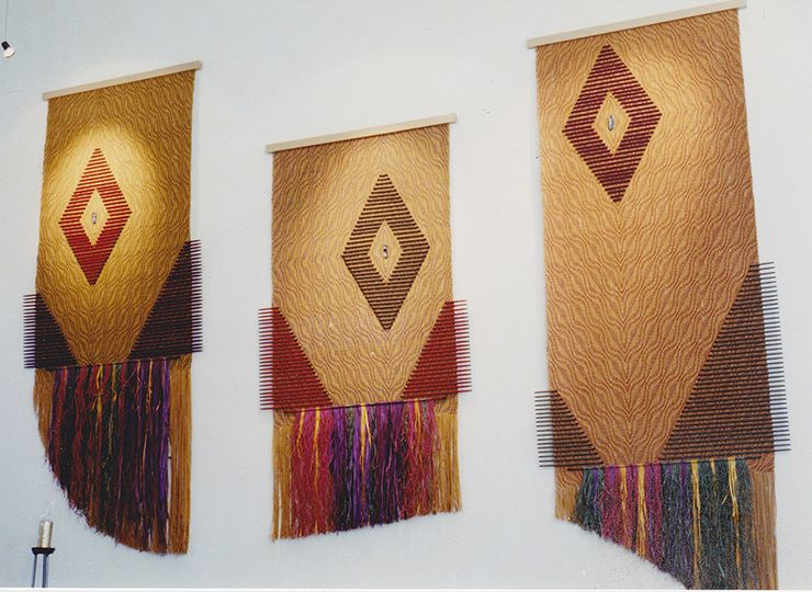 woven wall hangings - Google Search