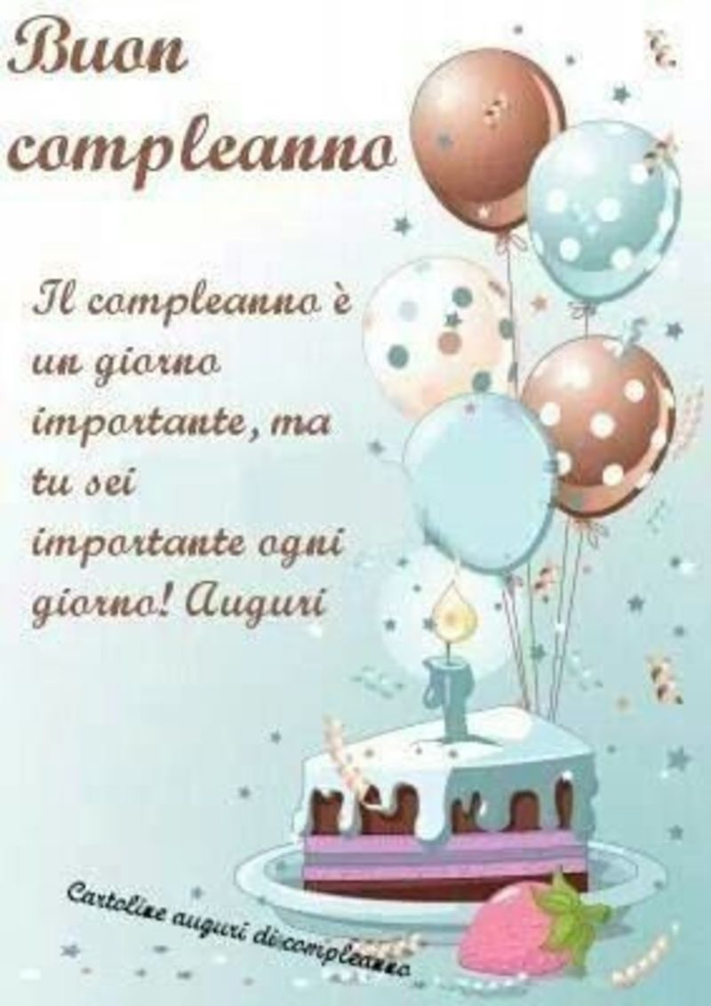 Frasi gratis Buon Compleanno Auguri 1 | Buon Compleanno