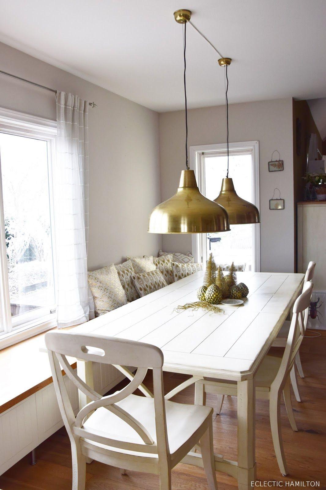 Die Perfekte Lampe Für Das Esszimmer Und Tolle Weihnachtsdeko In Gold.Tipps  Zum Leuchtmittelkauf /