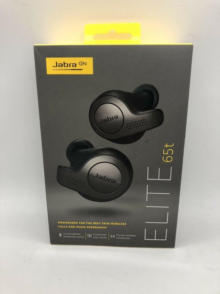 58aa466c920 eBay #Sponsored Jabra Elite 65t Alexa Enabled True Wireless Bluetooth  Earbuds Titan Black