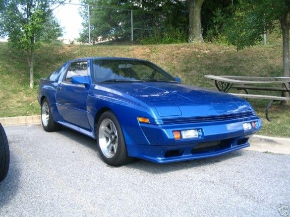 1988 Chrysler Conquest Tsi I Loved My Blue Conquest I Wanted To