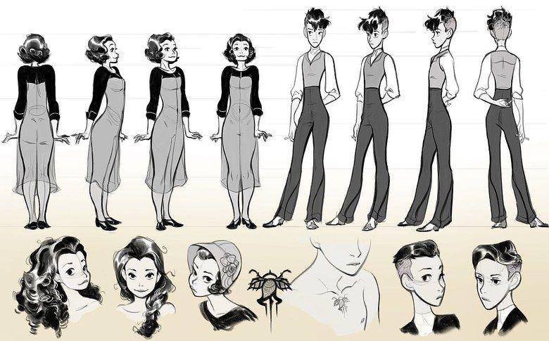 Animation Character Design Portfolio : Portfolio design portfolios character design and characters