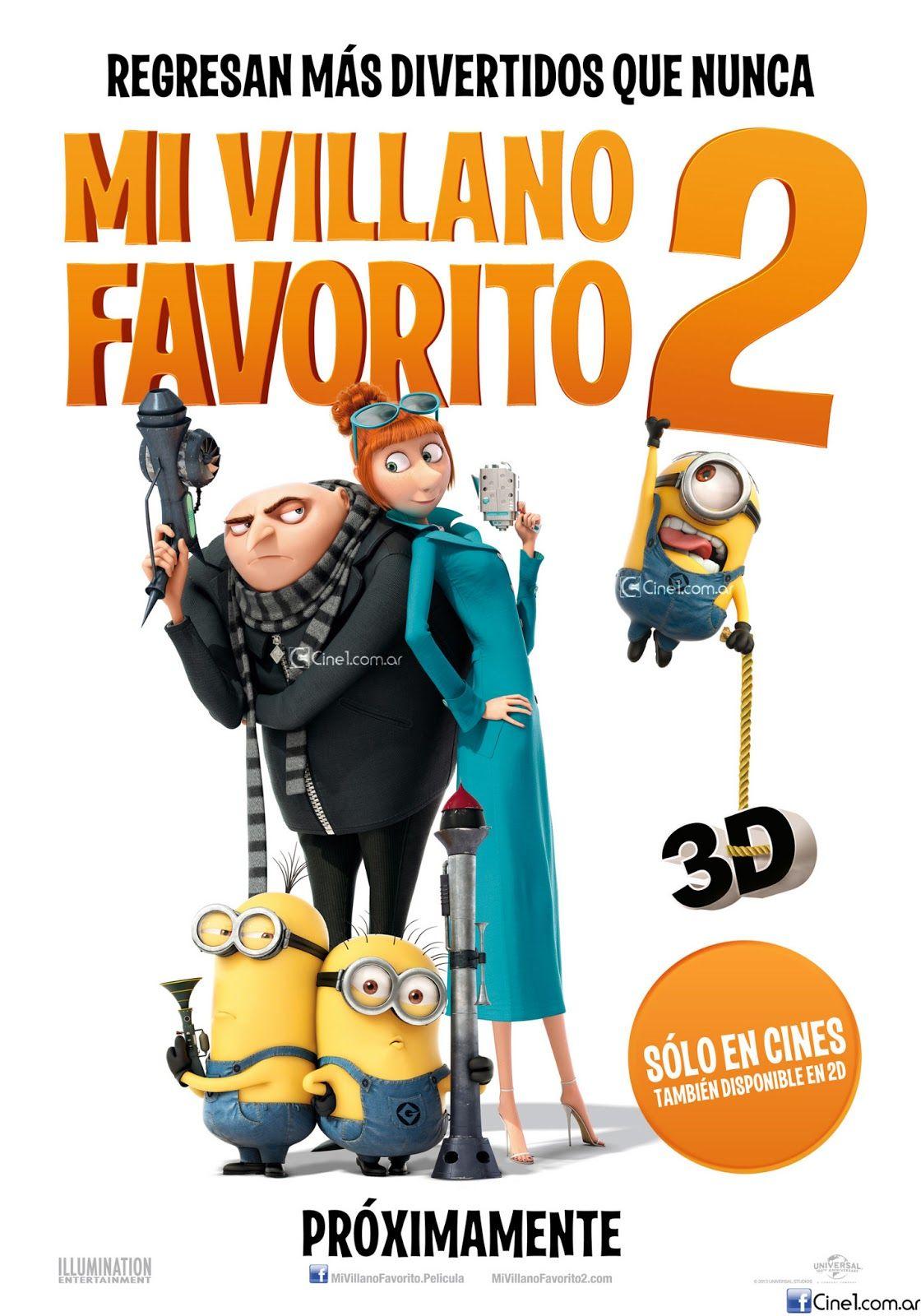 Mi Villano Favorito 2 [2013] [1080p BRrip] [Latino-Inglés] [GoogleDrive]
