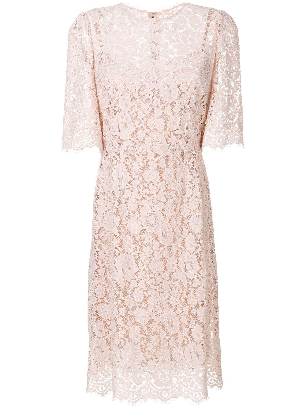 Lace dress pink  Dolce u Gabbana floral lace dress  Pink u Purple  fashion