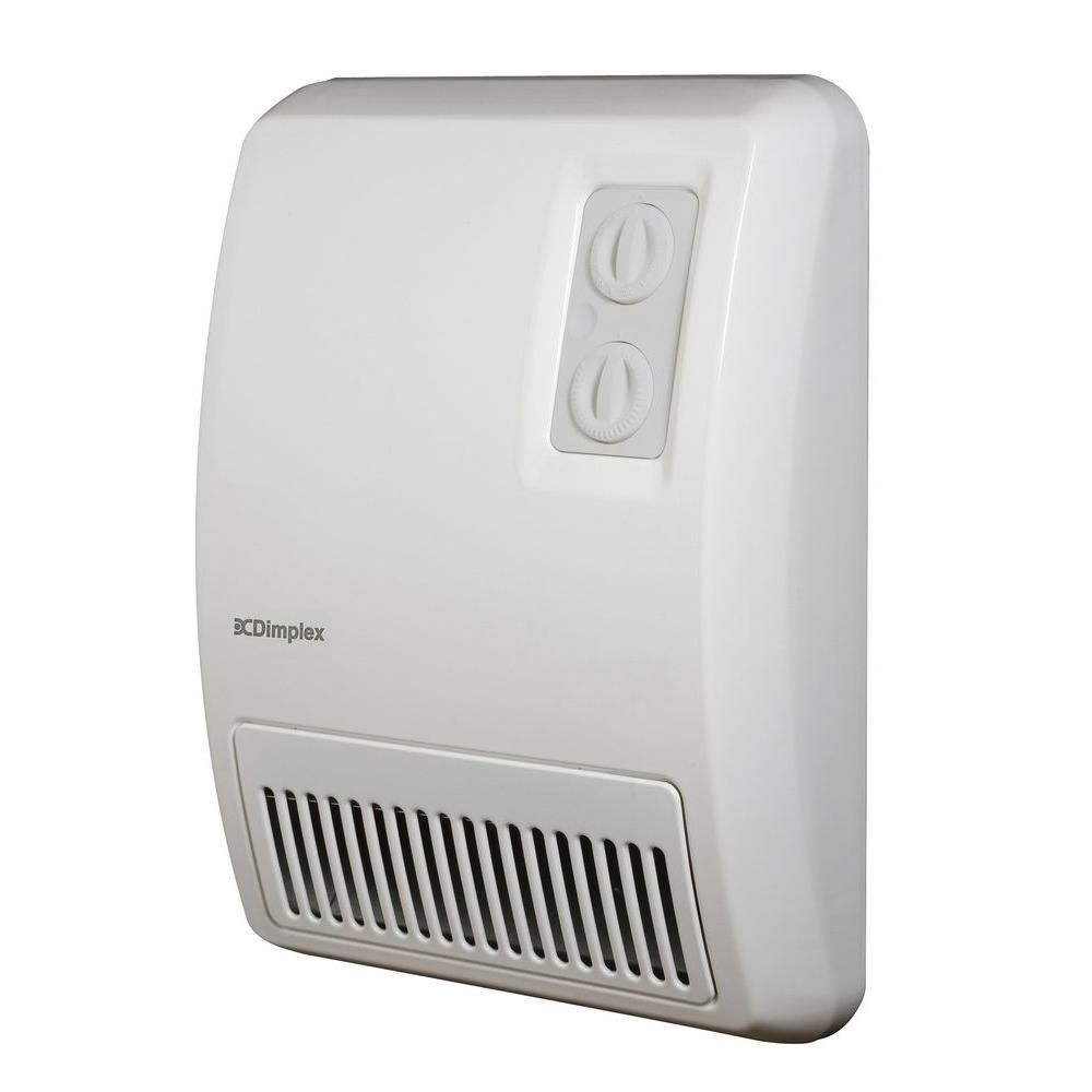 Dimplex 2 000 Watt Electric Deluxe Fan Forced Wall Heater Ef12 The Home Wall Mounted Heater Small Heater House Heater