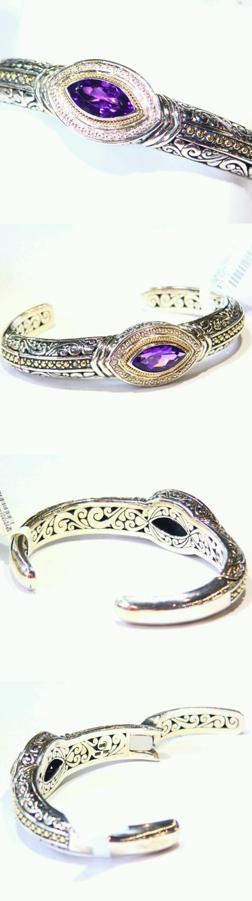 Bracelets samuel b behnam bjc natural stone k gold