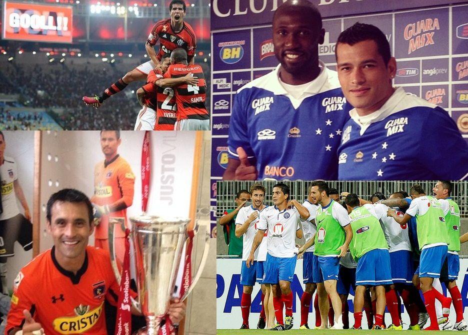 Paraguayos campeones en Brasil y Chile