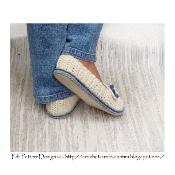 2in1-Pattern PACK for Wooly Winter Loafers and CROCHET-Soles / Sole ...