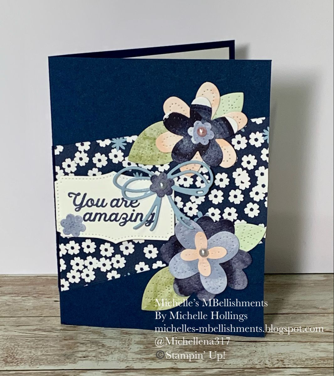 In Bloom Amazing Card Birthday card using Stampin'