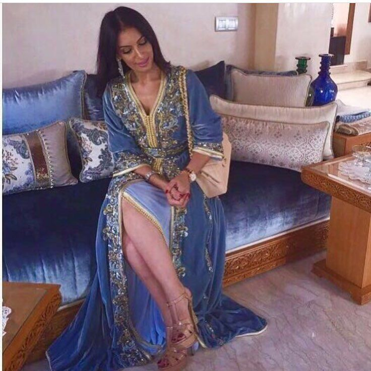 Épinglé par Fatima Zahra Lamsatfi sur tenues marocaines en 2019 ...