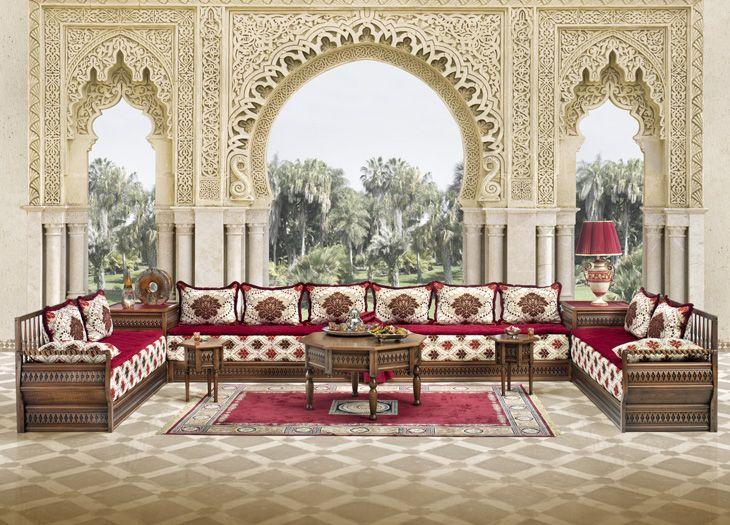 Photos de salon marocain oriental