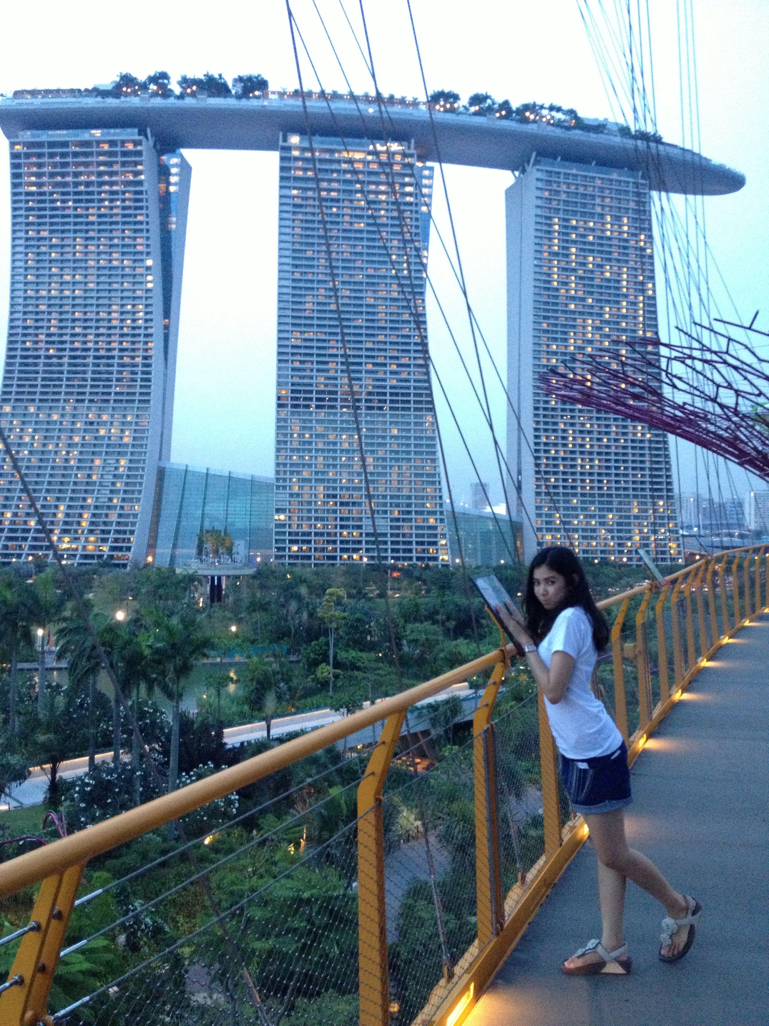 Ocbc Skyway Garden By The Bay Marina South Singapore Marina South Gardens By The Bay Golden Gate Bridge
