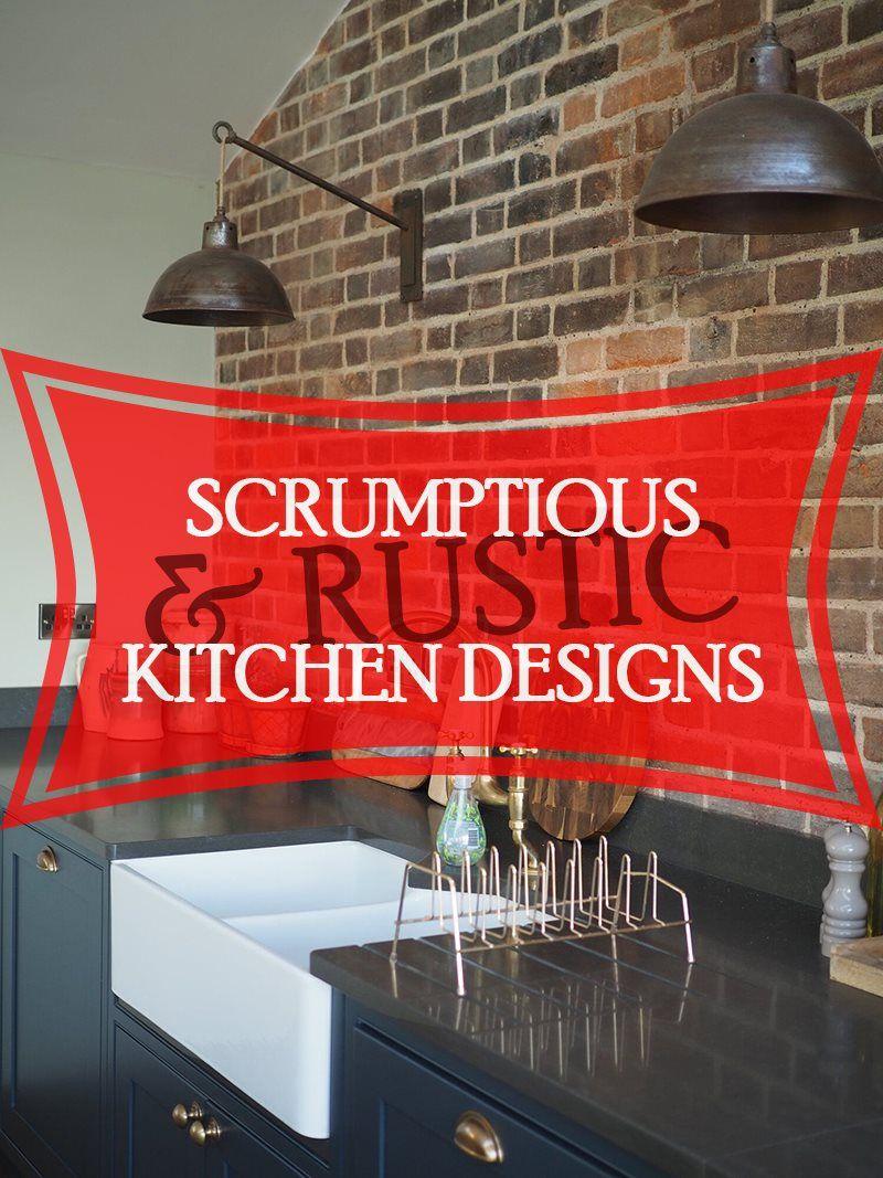 Rustic Kitchen panosundaki Pin