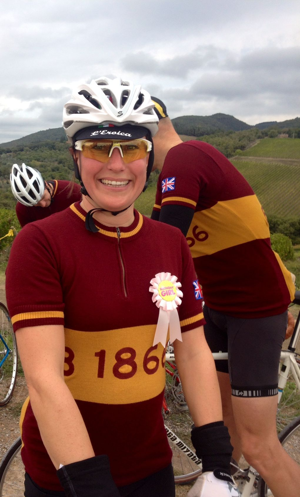 Vintage Cycling Clothing Ideas: Portrait Series from L'Eroica 2015