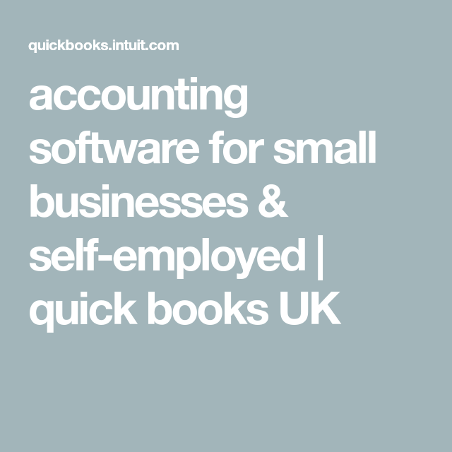 Quickbooks is an accounting software and mainly used for